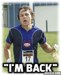 Josh is back