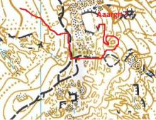 Skatey Creek map